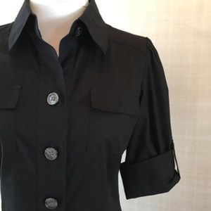 Black   Diane von furstenberg button down dress